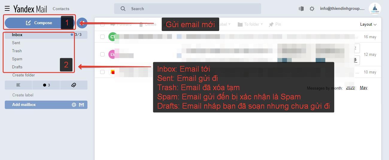 Email Theo Tiên Miền Đăng Nhập Thành Công