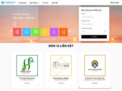 Thiết Kế Website Tin Tức Du Lịch Địa Điểm Việt Nam | Trang Thông Tin Du Lịch Vũng Tàu